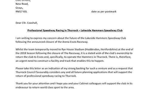 Letter-of-Support_- Thurrock Hammers