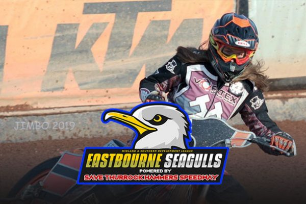 Cesca Wright_ Eastbourne Seagulls MSDL team Powered By Thurrock Hammers Speedway
